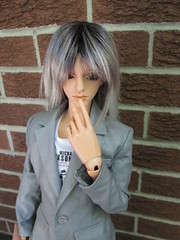 Thinking... (jSarie) Tags: toys dolls tan bjd alpha abjd balljointed bjds dollzone ajbds
