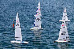 "Waiting for the ""Off"" (fstop186) Tags: sea lake speed radio movement sailing action over racing boating laser sail strong mast yachts rough capture incident winds turning buoy controlled gosport billowing walpolepark keeling buoyant canonef24105mmf4lisusm rclaser sidewind canon7d gosportmodelyachtandboatclub cocklepond gmybc"