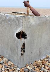 The Rusty Tank (Finding Chris) Tags: rust dereliction brightonandhovebeach
