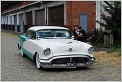 Oldsmobile Ninty-Eight DHC / 1956 (Ruud Onos) Tags: reunion vintage antwerp 1956 oldsmobile dhc wommelgem nintyeight oldsmobilenintyeight ruudonos de6841 antwerpvintagereunion antwerpvintagereunionwommelgem antwerpvintagereunion2013 haagscheamerikanenclub