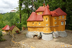 Croatia-00757 - Model of Veliki Tabor Castle