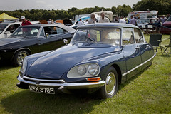 Citroen DS (<p&p>photo) Tags: auto show park uk blue summer west classic cars car coast scotland classiccar display country rally citroen ds july chrome eglinton vehicle motor 1968 classiccars eglintonpark carshow irvine citroends scots ayrshire motorcar classiccarshow 2013 classiccarrally westcoastrally worldcars eglintoncountrypark july2013 classicvehiclerally classicvehicleshow autoscots kfx278f