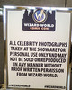 Wizard World celebrity photographs warning sign (maryloye) Tags: camera chicago celebrity slr photography places rules rosemont forbidden rights convention dslr ban warnings comiccon restricted refund permission banned notices escorted restrictions wizardworld notallowed personaluse 2013 celebrityphotographs donaldestephensconventioncenter detachablelens writtenpermission promotionalpurposes cameraswithdetachablelenses personallikeness withoutrefund