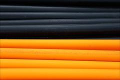 black and orange tubes (loop_oh) Tags: orange black germany deutschland hessen frankfurt main tubes bank baustelle constructionsite schwarz ostend frankfurtammain frankfurtmain roemer metropole römer hesse mainhattan ezb roehre rohre eintracht frankfurtam