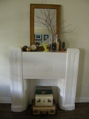 deco mantel (humanant99) Tags: art vintage display objects retro deco repurposed reclaimed