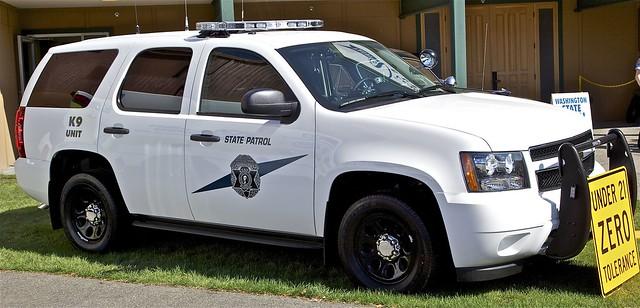 chevrolet tahoe police patrol k9 emergencyvehicles washingtonstatepatrol markedunits