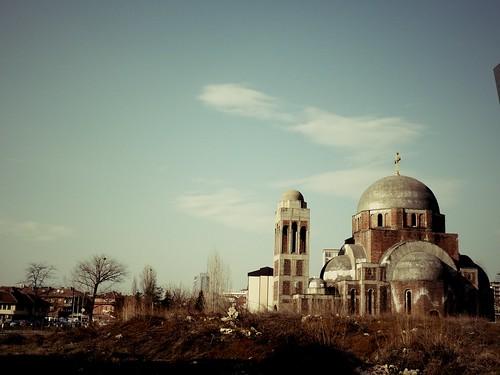Eglise orthodoxe, Pristina, Kosovo