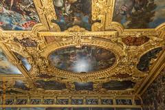 Venedig (Edi Bhler) Tags: italien structure decke ornament bauwerk venezia veneto gemlde dogenpalast 1424mmf28 nikond3s structuredetail palazzoducalelm bauwerkdetail