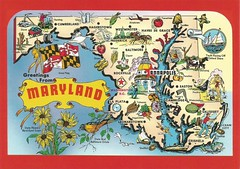 Greetings from Maryland (tico_manudo) Tags: maryland maps mapas mapcards