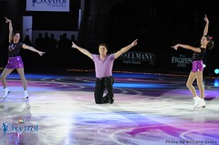 Isabelle Brasseur, Rocky Marval and Gabriella