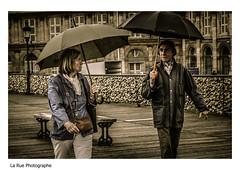 Couple au parapluie (L-BERD) Tags: paris couple arts des pont parapluie vision:text=0684 vision:outdoor=0938