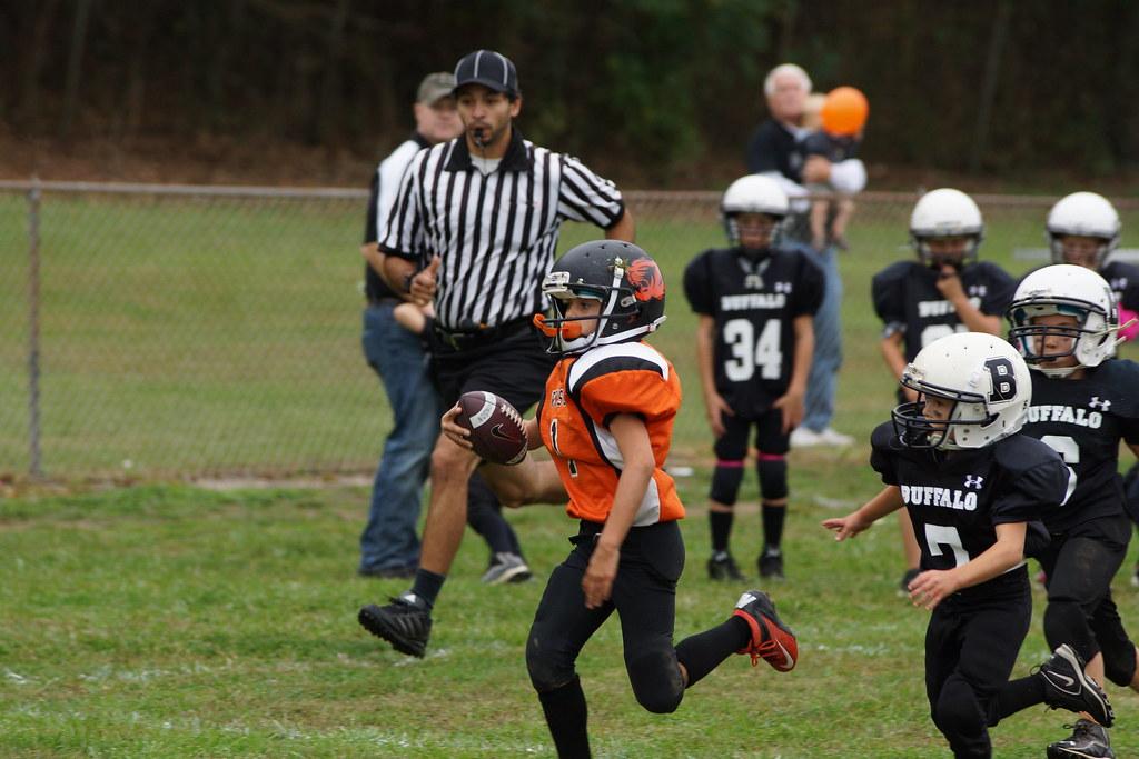 Think only! Buffalo eleanor midget football league think, that
