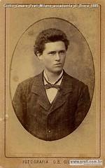 Giulio Cesare Prati Milano accademia di Brera 1885