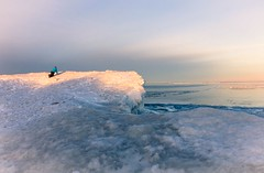 *We Come from the Land of the Ice and Snow* (Boreal Bird) Tags: lakesuperior ledzeppelin minnesotapoint icedunes