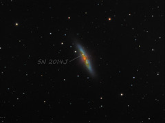 M82 SN 2014J (chris_swatton) Tags: auto uk england sky nova night garden stars photography star signature tripod bisque cigar super hampshire apo rob mount miller galaxy astrophotography software series astronomy supernova triplet mx equatorial paramount fareham filterwheel tmb robotic lodestar f7 m82 oag lrgb atik guider 130mm autoguider computerised 314l tmb130ss megamount tri36m