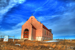 Sacred Heart Catholic Church (Pattys-photos) Tags: church hdr sacredheartcatholic fortbelknapindianreservation