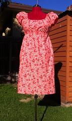 Sis Boom Meghan Peasant Dress (noonoomon) Tags: pink red meghan sisboom peasantdress jenniferpaganelli scientificseamstress carlahegemancrim noonoomon meghanpeasantdress