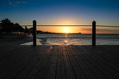 Coucher de soleil sur le quai - Sandals Royal Bahamian - Nassau, Bahamas (Explored) (pylacroix) Tags: winter sunset sky beach sand hiver sable ciel bahamas nassau plage coucherdesoleil 2012 sandalsroyalbahamian vision:sunset=0926 vision:outdoor=099 vision:sky=0948 vision:ocean=0584 vision:clouds=0879