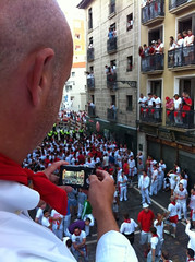 San Fermin Balcón Encierro Estafeta Final 01 (Destino Navarra) Tags: pamplona navarra sanfermin encierro estafeta balcón
