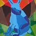 Der blaue Hase