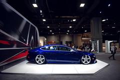 DC Auto Show (SebastianMarin.com) Tags: auto show blue dc nikon sebastian euro metallic marin low audi slammed d800 bagged 2470mm rs7