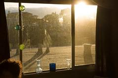 Golden Hour at the former Ugly House (2sonik) Tags: california roof oakland piedmont goldenhour alamedacounty dirtywindow uglyhouse moragacanyon freebeerifyouwashmywindows ourwindowsarereallydirty windowwasherspleaseapply