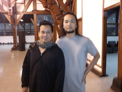 Dede SP with Aksan Sjuman