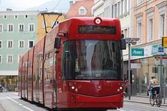 Innsbruck (austrianpsycho) Tags: austria tirol tram 325 tramway tyrol innsbruck bim stb bombadier pearle ivb österreich strasenbahn innsbruckerverkehrsbetriebe museumstrase flexityoutlook bombardierflexityoutlook ivbtram