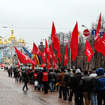 Demonstration in Kiev, Ukraine