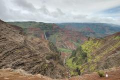Waimea Canyon (Dr_Drill) Tags: park fall water hawaii waterfall nikon state canyon falls waterfalls kauai waimea nikkor hdr vr d800 1635 1635vr