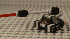 Tank Ship (Ddke) Tags: lego spaceship microscale