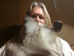 photo_00030 (walterscott489) Tags: man beard masculine smoke manly pipe smoking smoker pipesmoker virile
