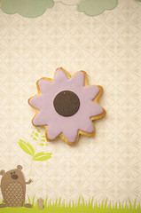 Cookie Blooms (flashfix) Tags: flowers food usa dessert spring nikon scenery cookie purple knoxville sweet tennessee unitedstatesofamerica cartoon starbucks bloom icing treat 40mm budding sugarcookies fondant 2014 foodphotography hss d7000 happysweetsunday 2014inphotos march162014