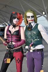 Harley Quinn & The Joker (Ibrahim D Photography) Tags: dc cosplay joker dccomics gotham comiccon harleyquinn lscc thejoker excelcentre londonsupercomicconvention harleenquinell