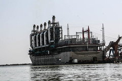 Powership, Shatt Al-Arab Waterway, Iraq