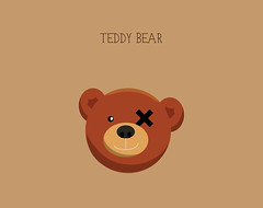Day 39 - Teddy Bear (Besim_Hakramaj) Tags: bear inspiration illustration project design graphicdesign graphic teddy daily 365days