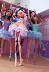 Corpse Du Ballet (missdesigndiva) Tags: ballet skeleton dance ballerina barbie anorexia fashiondoll bodyimage tutu eatingdisorder thedollproject