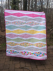 New wave baby quilt (Q is for quilts) Tags: finished slideshow ohfransson