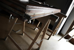 Wood on Wood (Nico Nie) Tags: wood holz rahmen gestell staffelei
