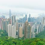 Victoria Peak. Hong Kong.