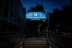 DSC04790 (Roland M_) Tags: berlin night stairs ubahn