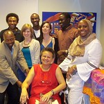 CAS graduate students with Drs. Bowen and Barro, 2011