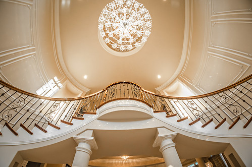 Andronx Double curve Stair in Charlotte NC