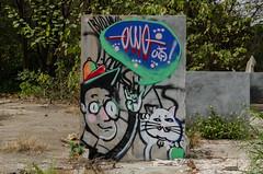 涂鸦2 (vincentlonglois) Tags: scrawl outdoor abandoned