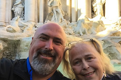 20161218 Rome-0246.jpg (Mark Harshbarger Photography) Tags: day1 lynneharshbarger italy trevifountain selfie markharshbarger fountain rome roma lazio it