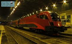 ÖBB railjet Budapest Nyugati pályaudvar ( Hungary) (taurus00806) Tags: railjet budapest nyugati pályaudvar öbb 1116 214 spirit hungary