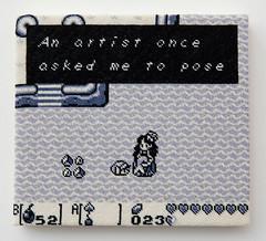 The Legend of Zelda: Link's Awakening (version 3) (2014) (perfhager) Tags: perfhager steneprojects contemporaryart gaming craft needlepoint embroidery handmade 刺繍 ゲーム 美術 現代美術 クラフト ハンドメイド アート