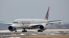 A7-ALI (Dub ramp) Tags: a7ali a350 qatar bos boston
