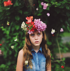 Grace in your heart and flowers in your hair. (Asher Lilley) Tags: