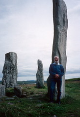 Scale: Callanish Stone Circle, Lewis (1996) (Duncan+Gladys) Tags: uk scotland callanish rossandcromarty